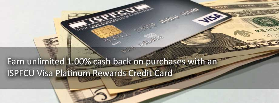 ISPFCU VISA Platinum Rewards